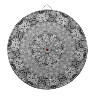 TRIBAL BOHEMIAN KALEIDOSCOPIC GEOMETRIC MANDALA DARTBOARDS
