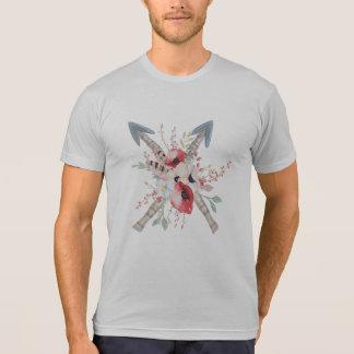 Tribal Boho Arrows Flowers Bouquet T-Shirt