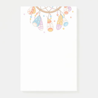 Tribal Boho Dreamcatcher Post-it Notes