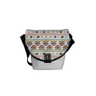 Tribal Boho Pattern Courier Bags