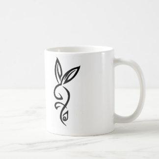 Tribal Bunny - Basic Mug