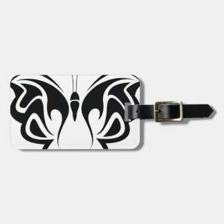 Tribal Butterfly Bag Tag