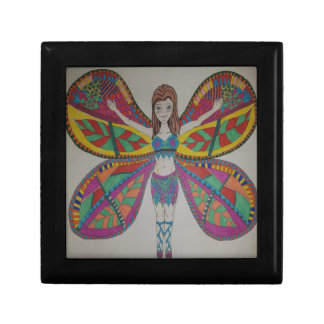 Tribal butterfly Fairy Gift Box