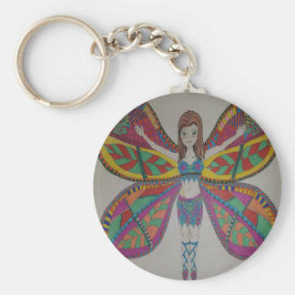 Tribal butterfly Fairy Keychain