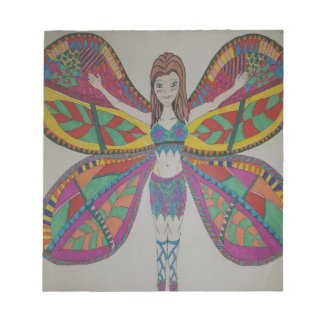 Tribal butterfly Fairy Notepad