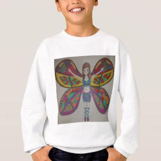 Tribal butterfly Fairy Sweatshirt