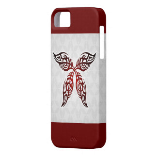 Tribal Butterfly Tattoo iPhone 5 Cover