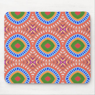Tribal Circles Mouse Pad