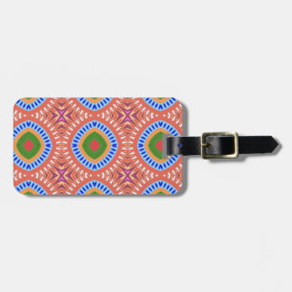 Tribal Circles Personalized Luggage Tag