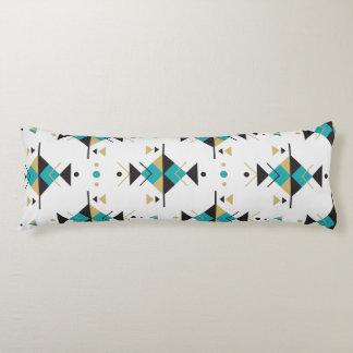 Tribal Colorful Geometric Pattern Body Pillow