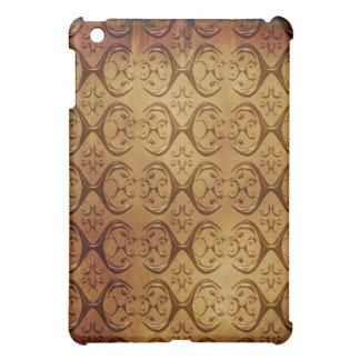 Tribal Damask on Parchment Ipad Case