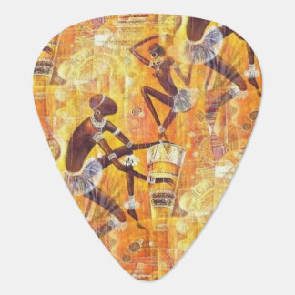Tribal Dance Guitar Pick