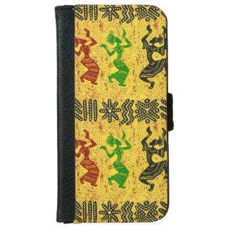 Tribal Dance iPhone 6 Wallet Case