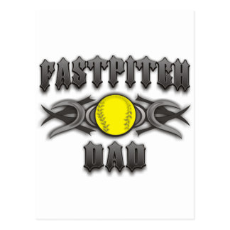 Tribal de papa du base-ball de Fastpitch Cartes Postales