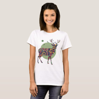 Tribal Deer T-Shirt