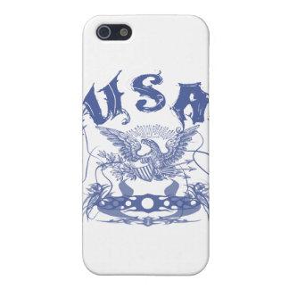 Tribal des Etats-Unis bleu Étuis iPhone 5