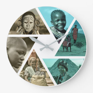 Tribal Diversity:  Africa is many different people Clock