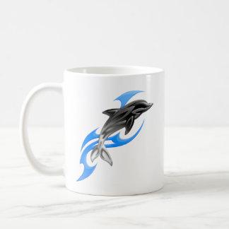Tribal Dolphin Classic Mug
