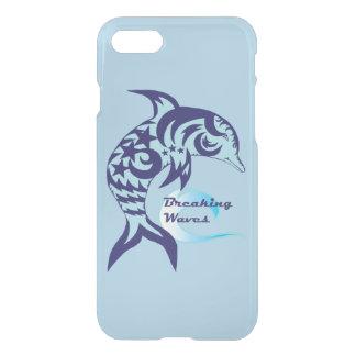 Tribal Dolphin Reflective Phone Case