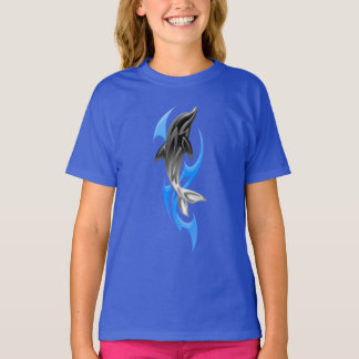 Tribal Dolphin T-Shirt
