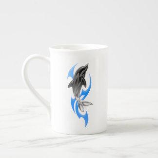 Tribal Dolphin Tea Cup