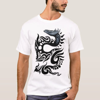 Tribal Dragon Design T-Shirt