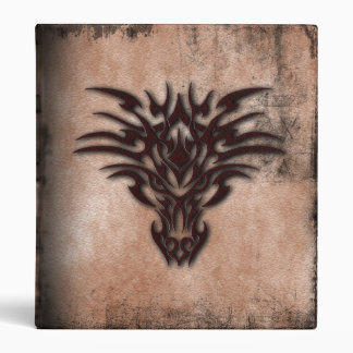 Tribal Dragon Gothic Binder