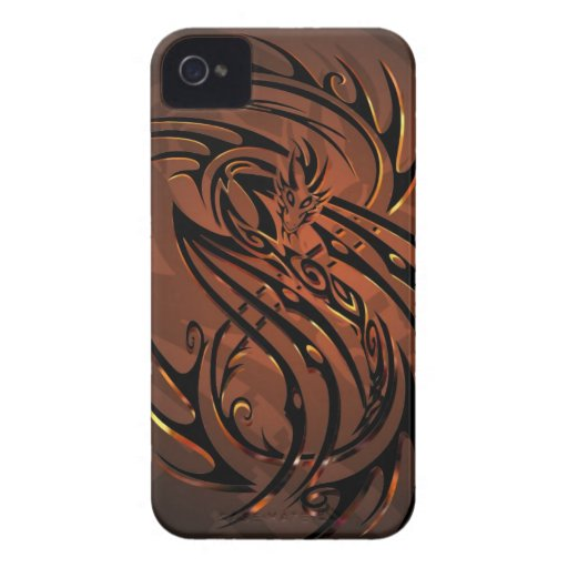 tribal dragon phone case iPhone 4 Case-Mate case