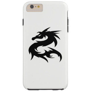 Tribal Dragon Silhouette Tough iPhone 6 Plus Case