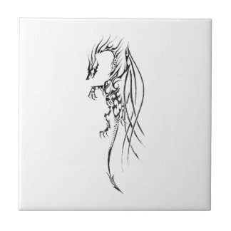 Tribal dragon tile