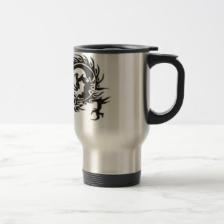 tribal dragon travel/commuter mug