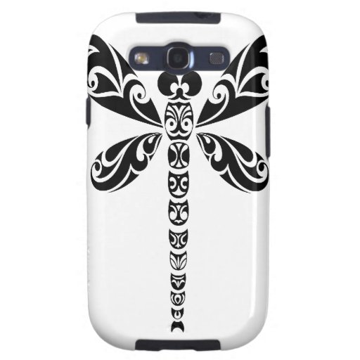 Tribal Dragonfly Tattoo Samsung Galaxy SIII Covers