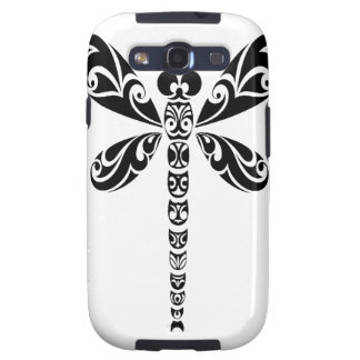 Tribal Dragonfly Tattoo Samsung Galaxy S3 Cover