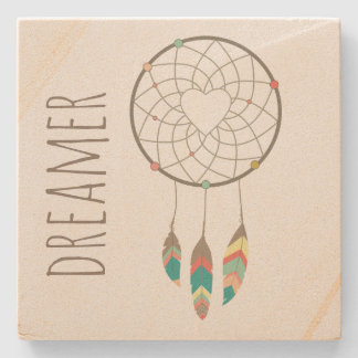 Tribal Dream Catcher Stone Coaster