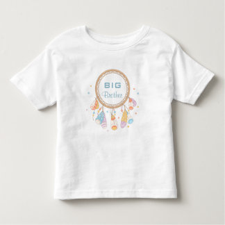 Tribal Dreamcatcher Boho Big Brother Toddler T-shirt