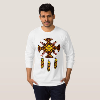 Tribal Dreamcatcher Native American Celtic Feather T-Shirt