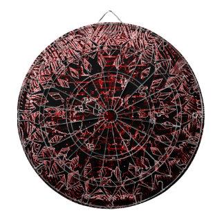 Tribal Effect Red Dart Boards