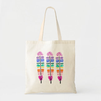 Tribal Feather Tote. Tote Bag