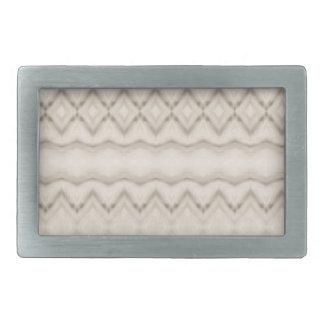 Tribal Feather Zig Zag Pattern Design Belt Buckle