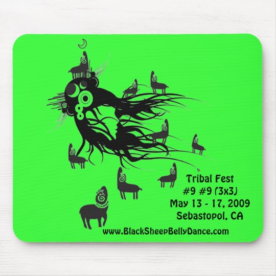 Tribal Fest Mouse Pad