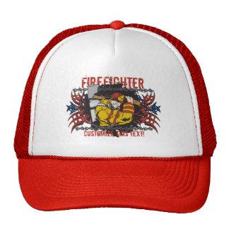 Tribal Firefighter Hat