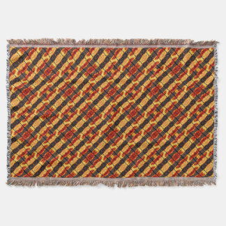 Tribal Fusion Throw Blanket