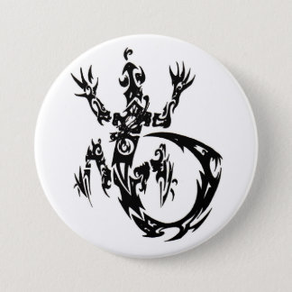 Tribal Gecko button
