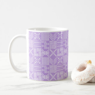 Tribal Geo Mug in Lavender