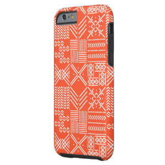 Tribal Geo Phone Case in Orange