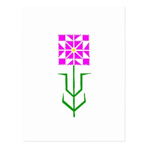 tribal geometric ethnic art postcards