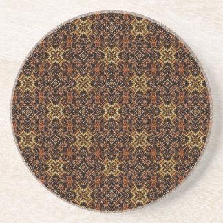 Tribal Geometric Print Coaster