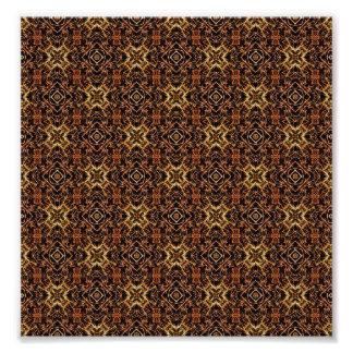 Tribal Geometric Print Photo