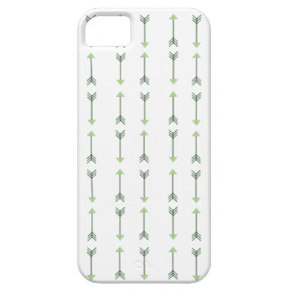 Tribal green Arrow Pattern iPhone 5 Covers