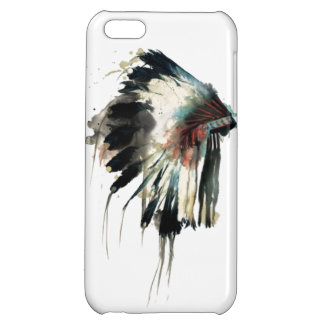 Tribal hat iPhone 5C case